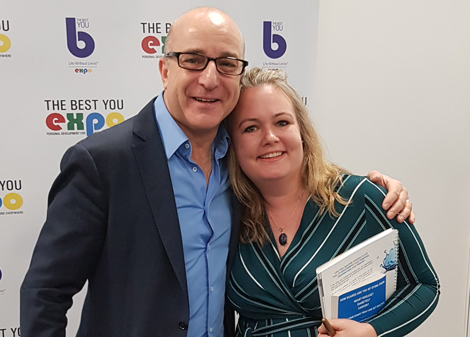 Julie Provino and Paul McKenna<br/>The Best You Expo